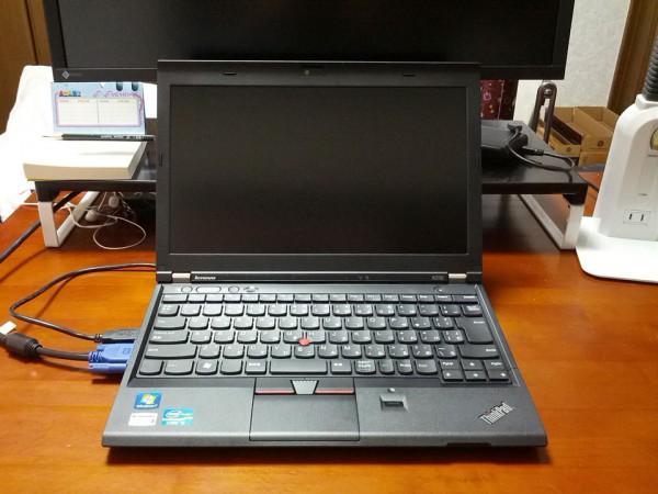ThinkPad-X230-外付けモニタ