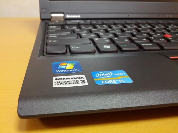 ThinkPad-X230-ステッカー