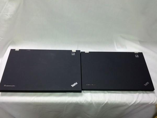 ThinkPad-T430s-T520と縦幅比較