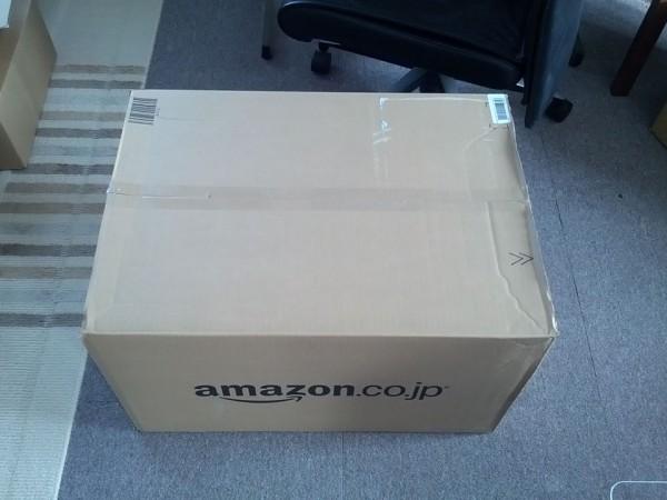 アマゾンの箱が届いた