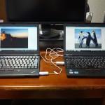SANWA SUPPLY ドラッグ&ドロップ対応USB2.0リンクケーブル