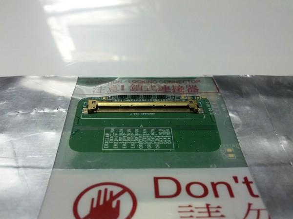 LCDコネクタのアップ写真