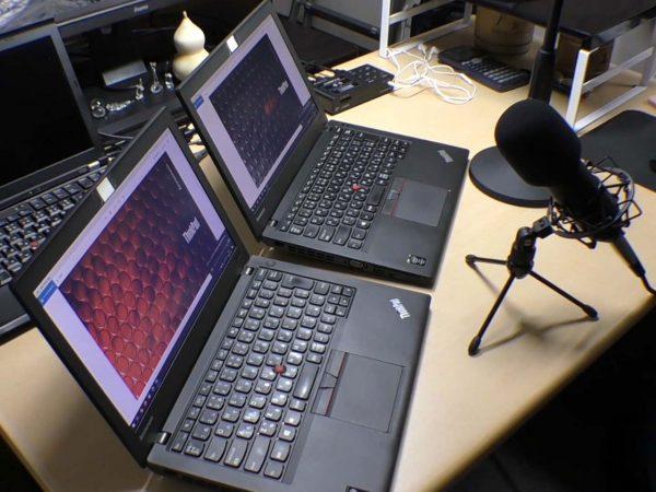 ThinkPad X250のスピーカー音量比較検証中
